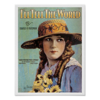 I'll Tell The World poster