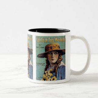 I'll Tell The World Two-Tone Mug