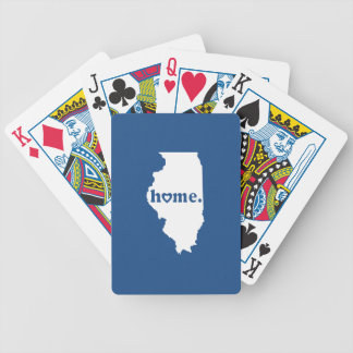 Illinois Home Bicycle Playing Cards