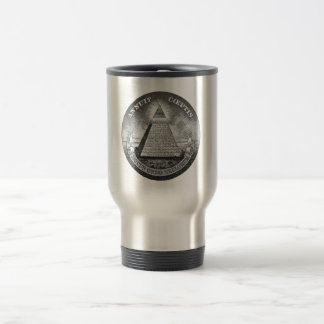 Illuminati All Seeing Eye Stainless Steel Travel Mug