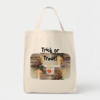 Illusionary Pumpkins with Tote Bag-Trick or Treat!