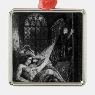 Illustration from 'Frankenstein' Christmas Ornament