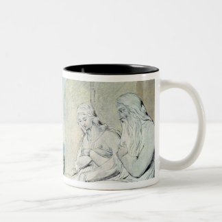 Illustrations of the Book of Job Two-Tone Coffee Mug