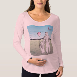 ILM Maternity Long Sleeve T-Shirt