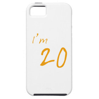 I'm 20 case for the iPhone 5