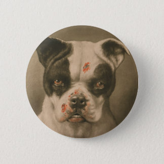 I'm a Bad Dog What Kind of Dog Are You? 6 Cm Round Badge
