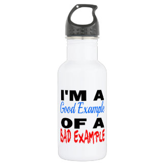I'm A Good Example Of A Bad Example 532 Ml Water Bottle