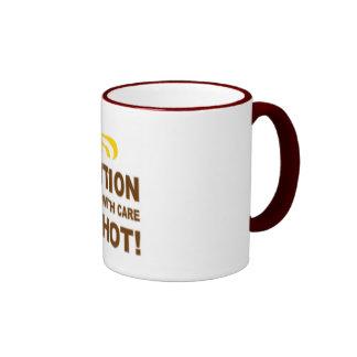 I'm a hot coffee mug