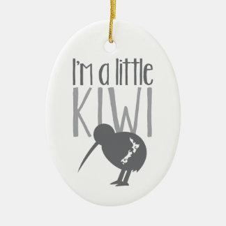 I'm a little kiwi with cute New Zealand bird Christmas Ornament