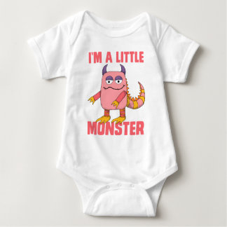 I'm A Little Monster Baby Bodysuit