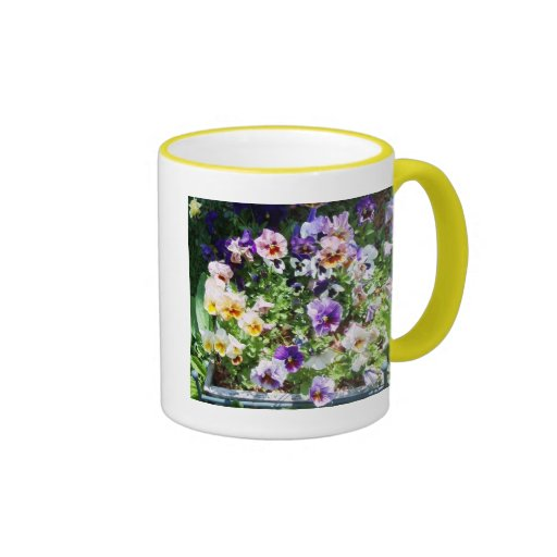 I'M A PANSY LOVER MUGS