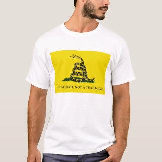 I'm a Patriot, Not a Teabagger T-Shirt