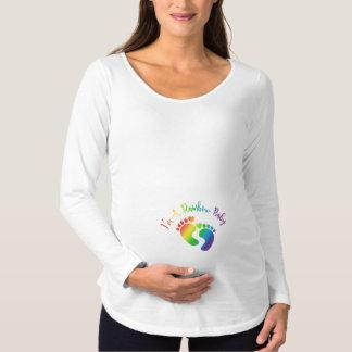 I'm A Rainbow Baby Maternity Long Sleeve Shirt