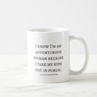 I'm adventurous woman coffee mug