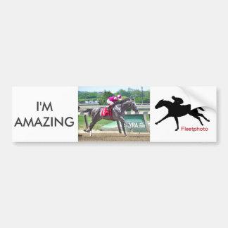 I'm Amazing & Eric Cancel Bumper Sticker