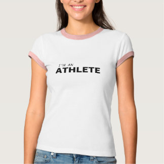 I'M AN ATHLETE/BREAST CANCER T-Shirt