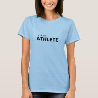 I'M AN ATHLETE/GYNECOLOGIC-OVARIAN CANCER T-Shirt