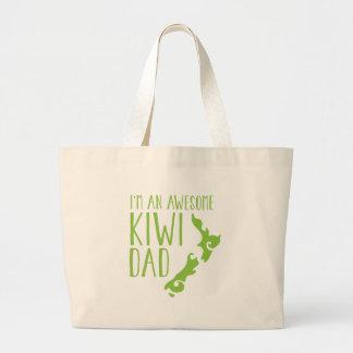 I'm an awesome KIWI dad New Zealand Jumbo Tote Bag