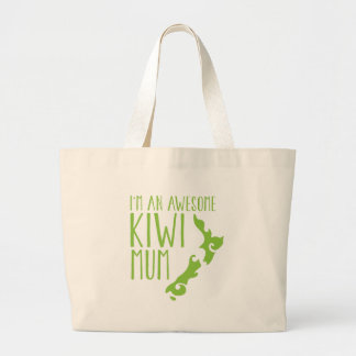 I'm an awesome KIWI MUM New Zealand Jumbo Tote Bag