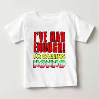 I'm Calling Nonno Baby T-Shirt