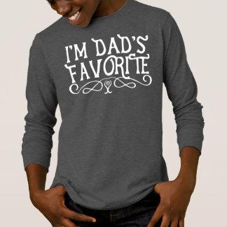 I'm Dad's Favourite Son Dark T-Shirt