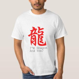 I'm Dragon Chinese New Year basic men Tee