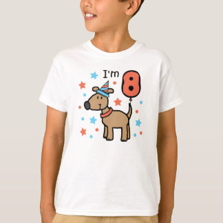 I'm Eight Doggie T-Shirt