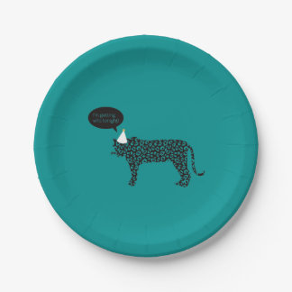 I'm getting Wild tonight! paper plates 7 Inch Paper Plate