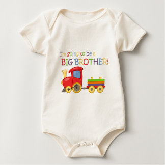 I'm going to be a big brother! baby bodysuit