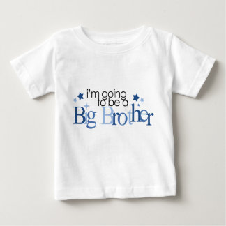 """I'm going to be a big brother"" Baby T-Shirt"