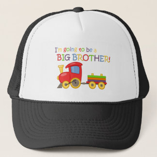 I'm going to be a big brother! trucker hat