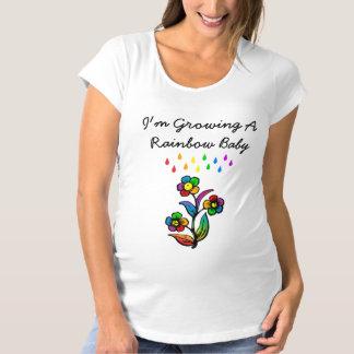 I'm Growing A Rainbow Baby Maternity T-Shirt