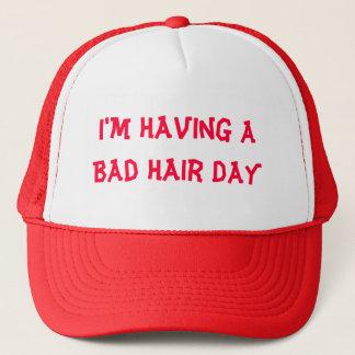 I'm Having A Bad Hair Day Trucker Hat
