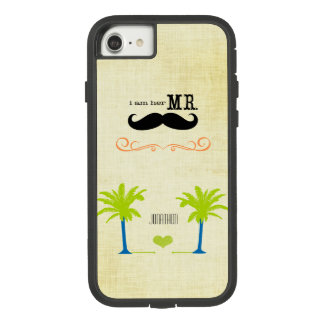 I'm Her Mr. Mustache Groom Beach Palm Tree Case-Mate Tough Extreme iPhone 7 Case