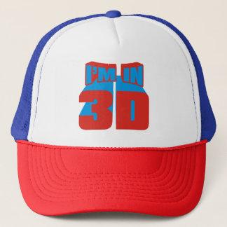 I'm In 3D Trucker Hat