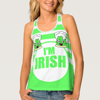 I'm Irish with Green Beer Tank Top