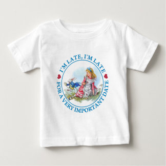 I'm Late, I'm Late For a Very Important Date! Tshirts