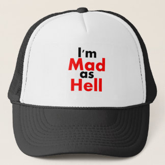 I'm Mad as Hell Hat