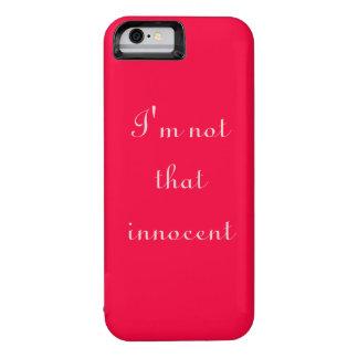 I'm not that innocent