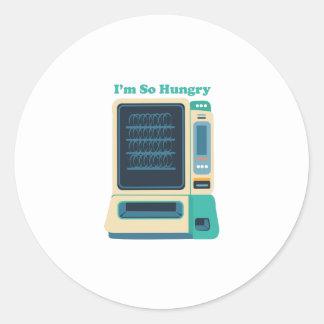 Im So Hungry Classic Round Sticker