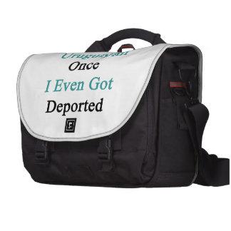 I'm So Uruguayan Once I Even Got Deported Computer Bag
