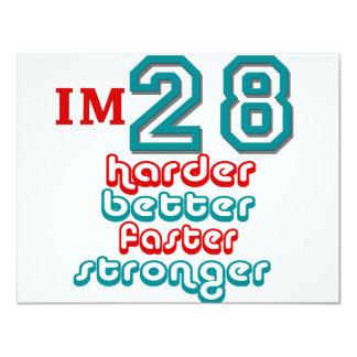 I'm Twenty Eight. Harder Better Faster Stronger! B Custom Announcements
