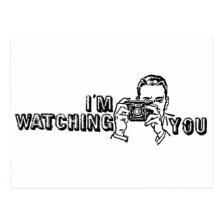 I'm Watching You Postcard