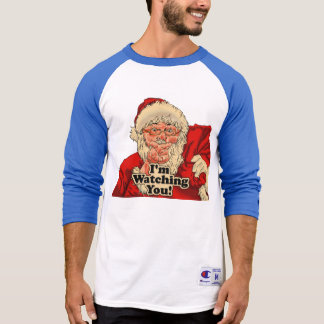 Im watching you-santa claus illustration T-Shirt