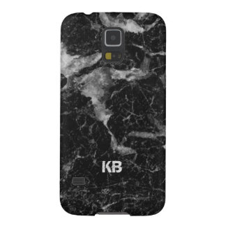 Image Of Black & Grey Marble Texture Galaxy S5 Cover