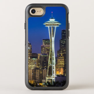Image of Seattle Skyline in morning hours OtterBox Symmetry iPhone 8/7 Case