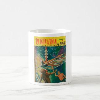 Imagination _ 02-1956_Pulp Art Basic White Mug