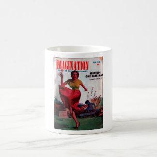 Imagination - 1955-6_Pulp Art Basic White Mug