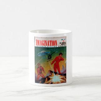 Imagination - 1957-06_Pulp Art Basic White Mug