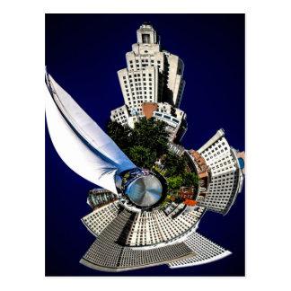 Imagination providence rhode island mini planet postcards